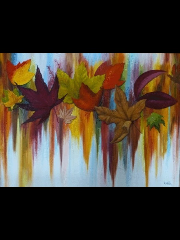 Colors of Fall - 36x48 - Oil
