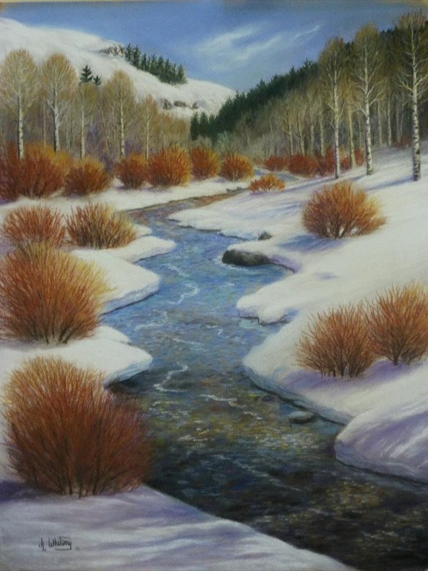 Touch Of Spring - 19 x 25 - Pastel